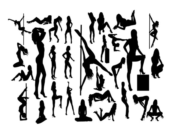 Sexy Woman Svg Sexy Lady Svg Woman Silhouette Svg Sexy Girl Etsy