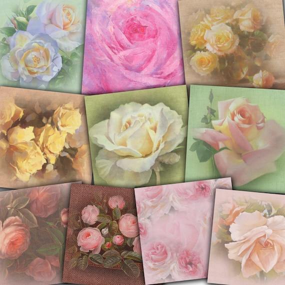 Sensational Vintage Roses Victorian Rose Digital Paper Shabby Chic Roses Digital Scrapbook Decoupage Paper Floral Digital Background Buy 2 Get 1 Free Beutiful Home Inspiration Xortanetmahrainfo