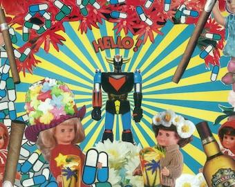 Hello LSD - art collage