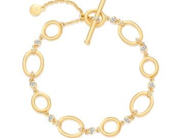 NEW! High-quality elegant bracelet, Chain & Link bracelets, Chain bracelet, Sterling Silver bracelet, Brushed bracelet, hoperomance