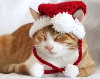 christmas cat etsy