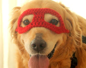 Super Hero Dog Costume, Super Hero Mask for Dogs, Super Hero Dog Costume, Halloween Costume for Large Breed Dogs, Hero Mask for Large Dogs