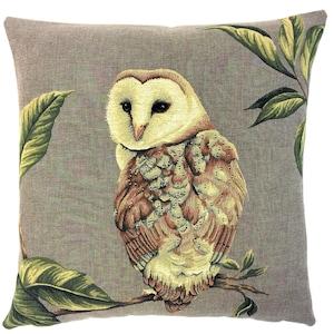 Barred Owl Owl Gifts Owl Cushion Nature Cushion Nature Decor Owl Pillow Woodland Pillow Woodland Decor Raptor Owl Decor Hoot Owl