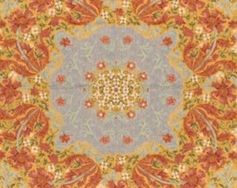 Melanie Throw - Throw Blanket - Tapestry Throw - Floral Throw Blanket - Tapestry table throw - Fringed Throw Blanket - Sofa Throw