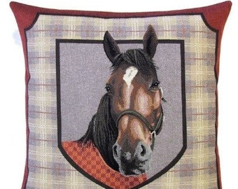 Horse Tapestry Pillows