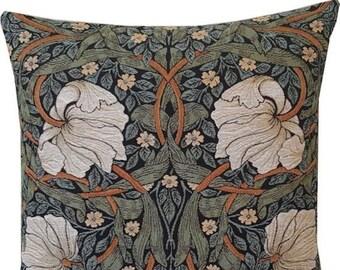 William Morris Pimpernel Pillow Cover  - William Morris Gift - Morris gobelin Cushion Cover - Morris decor - English Decor - Tapestry Pillow