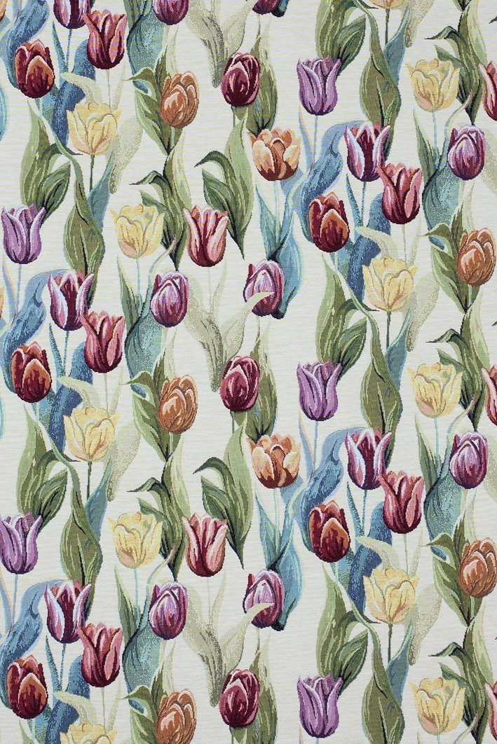 Tapestry Fabric Tulip Fabric Jacquard Woven Fabric Quilting Fabric