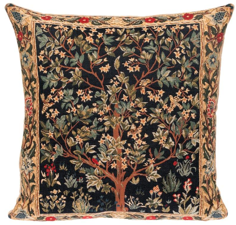 Tree of Life Pillow Cover  William Morris Pillow  William image 0