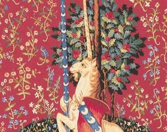 Unicorn Tapestry - Unicorn wall hanging tapestry - belgian tapestry wall hanging - Unicorn Lover Gift - Unicorn Decor - WT-855