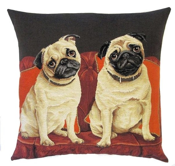 Amazing Dog Pillow Couch Pug Pillow Cover Pug Decor Funny Pugs Throw Pillow Pug Cushion Cover Tapestry Pillow Cover Pug Gift Ncnpc Chair Design For Home Ncnpcorg