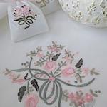 Machine Embroidery Design Flower bouquet (3 in 1)