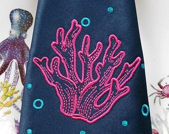 Corals Machine Embroidery Design - 5 sizes