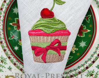 Machine Embroidery Design Christmas dessert