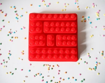 Bricks Silicone Mould Mold, Cake Decorating, Cakes, Cupcakes, Cookies, Sweets, Candy, Jelly, Jello, Polymer Clay, Jewellery