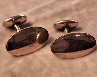 Pair of Gold Cufflinks