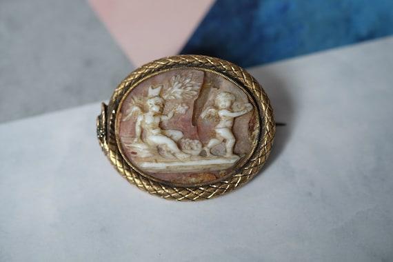 1890/'s Antique 15 Carat Detailed Amethyst Bar Brooch Circa