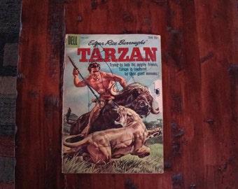 Vintage Dell Tarzan Burroughs comic book 1959 Vol 1 No 115