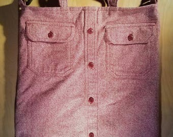 Flannel Tote Bag