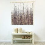 modern woven decor, woven wall hanging, wall tapestry, large wall hanging, macrame wall hanging, woven wall decor, over crib, boho headboard