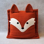 fox pillows, decorative pillow for couch, animal couple pillow, personalized pillow, unique wedding gift for couple, custom throw pillow