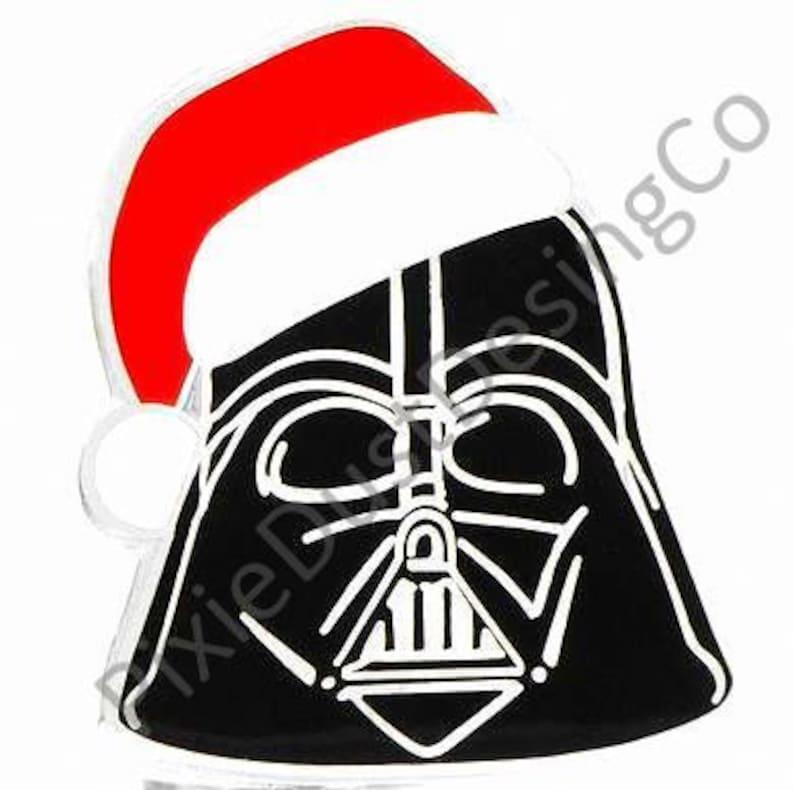 832140ac0790a Star Wars Darth Vader wearing Santa Claus hat Merry Sithmas