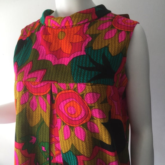 60s Hawaiian Romper