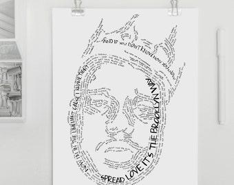 Rap lyrics crafts | Etsy
