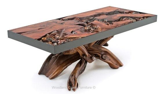 River Runs Through It Unique Coffee Table Etsy