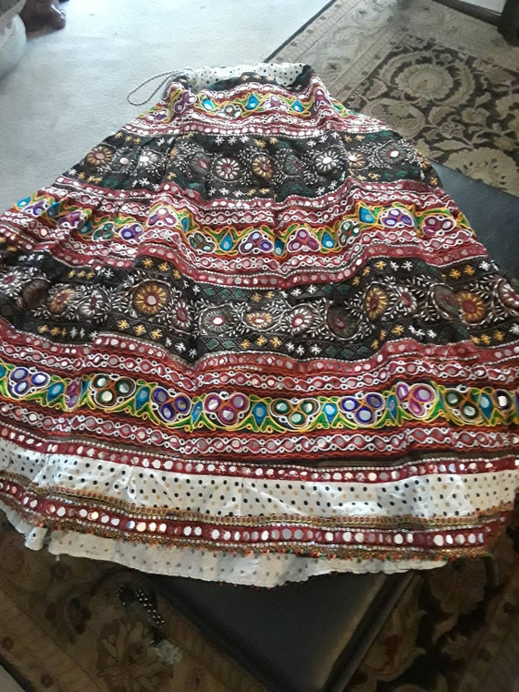 VINTAGE MEXICAN MAXI SKiRT