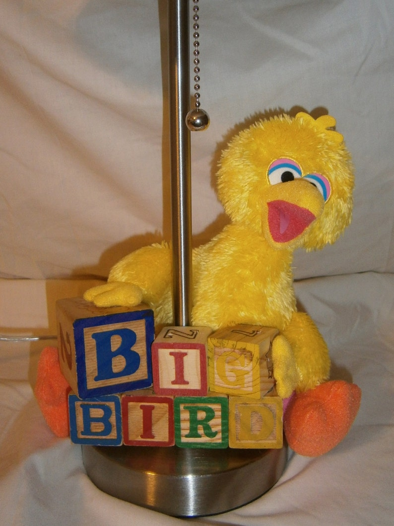 Big Bird Sesame Street Lamp Base