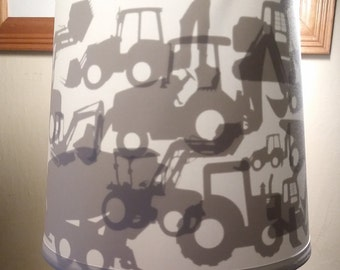 Construction/Tractor/Truck Lamp Shade