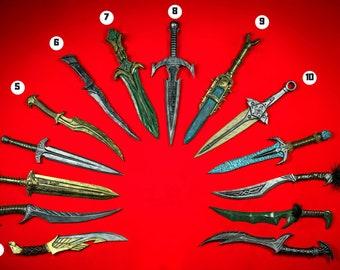 Skyrim dagger.40 cm. 16 inches. Elder Scrolls prop