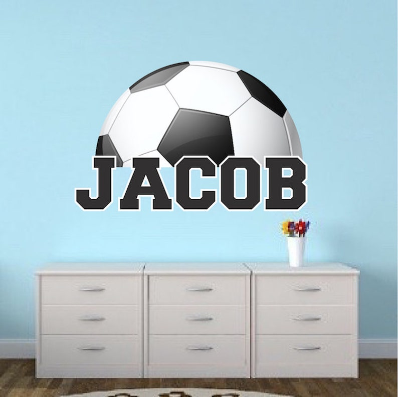 Soccer Balls Sport Numbers PEEL OFF STICKERS Boys Men Cardmaking