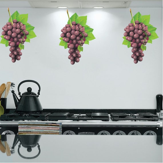 Grape Decals Kitchen