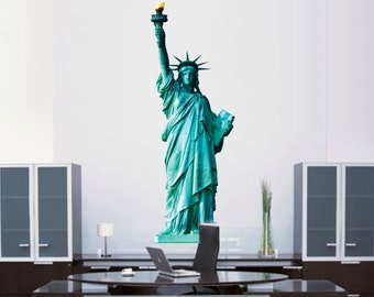 Statue of Liberty Decal, Statue of Liberty Wall Mural, Statue of Liberty Wall Design, Statue of Liberty Wall Design, Liberty Wall Art, a79