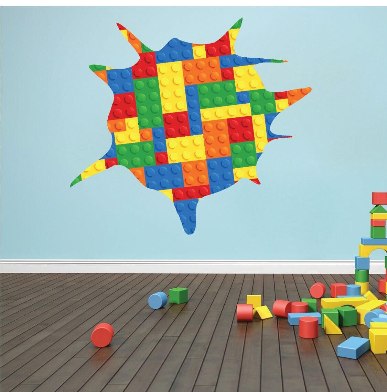 les enfants sticker mural salle de jeux color e mur art. Black Bedroom Furniture Sets. Home Design Ideas