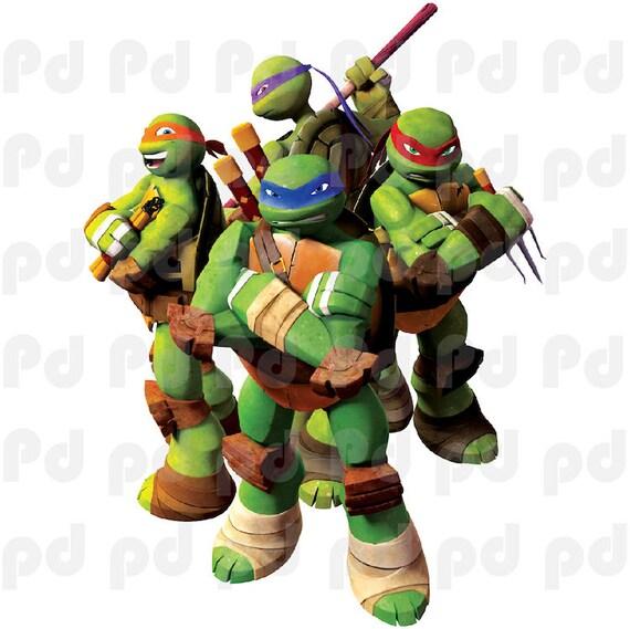 Ninja Turtles Slaapkamer.Teenage Mutant Ninja Turtles Muur Decal Kids Slaapkamer Muur Etsy