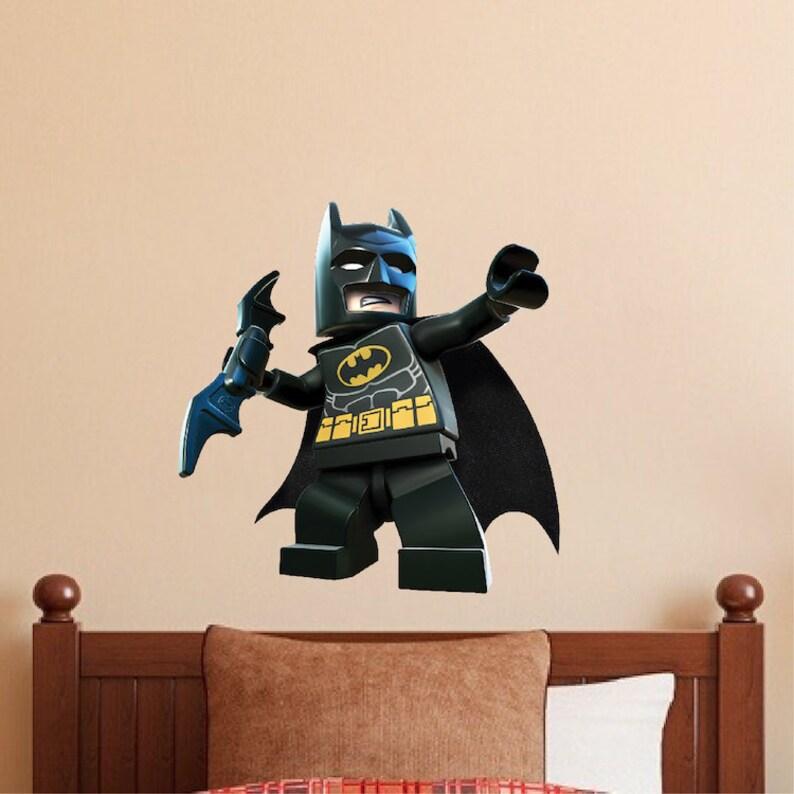 Lego Batman Autocollant Mural Vinyle Mur Autocollants
