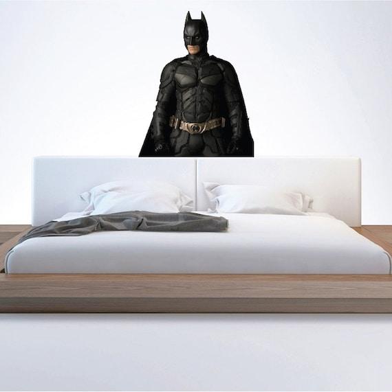 Batman Begins Wall Decal Batman Wall Designs Batman Wall | Etsy