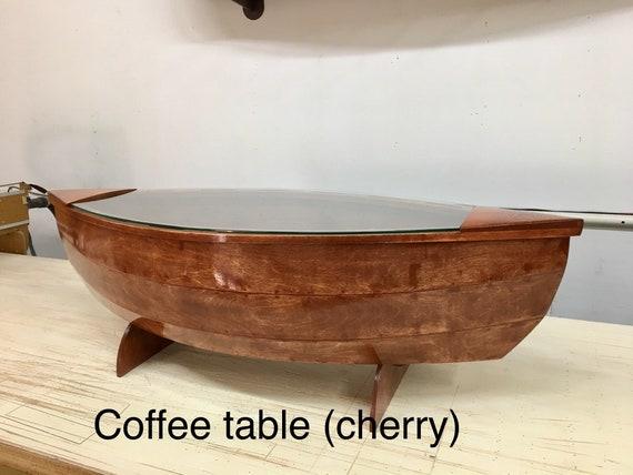 Canoe Coffee Table Etsy