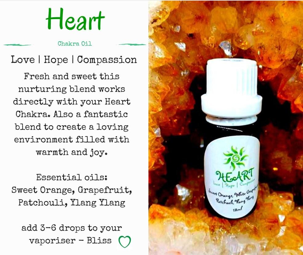 InLaKesh Aromatics Heart Chakra Essential Oil Blend