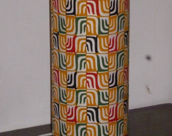 Lamp in Japanese pattern chart from the 70s
