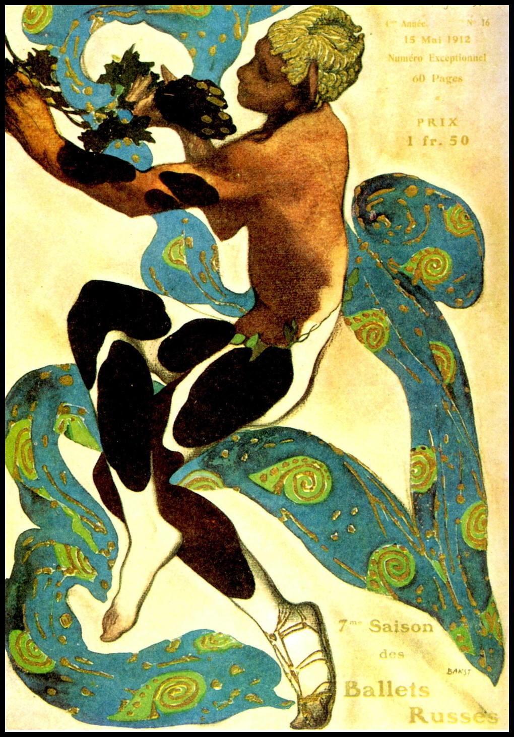 Art Nouveau Print Art Nouveau Wall Art Leon N. Bakst | Etsy