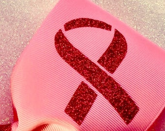Cancer symbol DECAL ONLY- cancer awareness