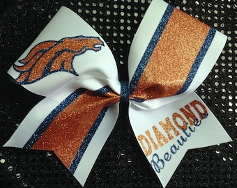 Cheer Mascot with two glitter colors