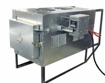 Programmable electrical kiln, 20 q.litres chamber