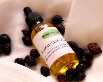 Rosehip Facial Oil Cleanser + Facial Serum