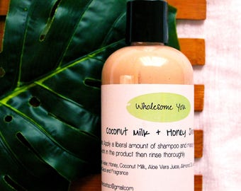 Coconut Milk & Honey Shampoo