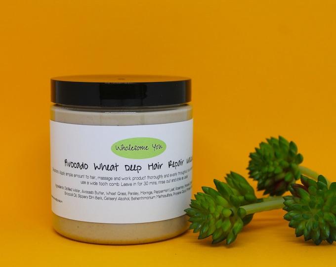 Featured listing image: Avocado Wheat Deep Hair Repair Masque
