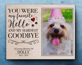 Pet Sympathy Gift, Sympathy Frame Pet, Personalized Pet Memorial, Pet Memorial Gifts, Dog Loss, Loss Of A Pet, Pet Markers, Pet Bereavement